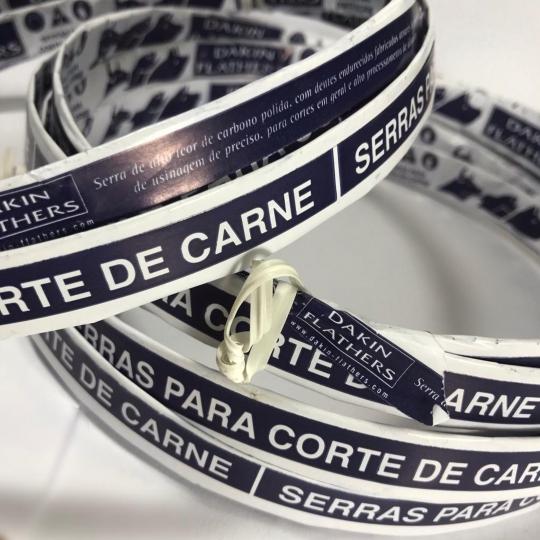 FITA DE SERRA PARA CARNE | CAIXA COM 05 - VÁRIAS MEDIDAS - DAKIN FLATHERS