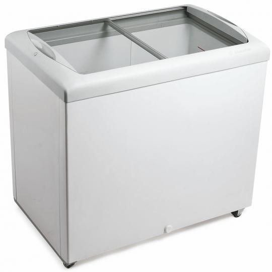 Freezer Horizontal Tampa em Vidro 303 litros HF30S - Metalfrio