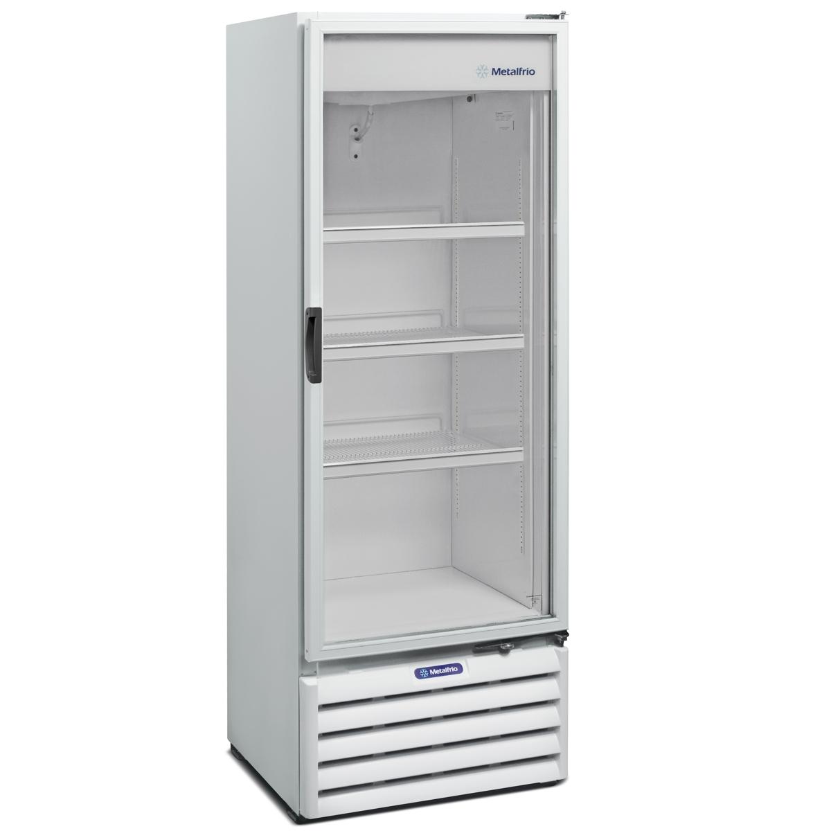 Refrigerador Porta Em Vidro 406 Litros Vb40w Metalfrio Sotomano