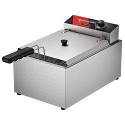 Fritadeira elétrica com tampa 5,0 Litros 220v. FRCE5 - Metalcubas