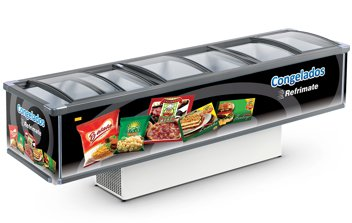 EXPOSITOR ILHA SUPER TOP - 3000 - REFRIMATE