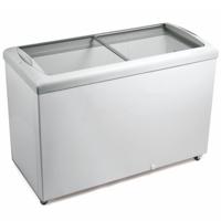 Freezer Horizontal Tampa em Vidro 433 litros HF40S - Metalfrio