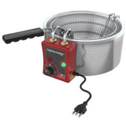 Tacho fritador elétrico 5,0 Litros 220v. TFRE5 - Metalcubas
